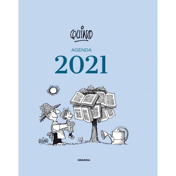 Quino 2021 Encuadernada - Azul Claro