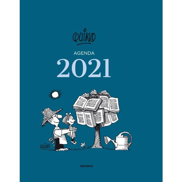 Quino 2021, Encuadernada - Azul Oscuro