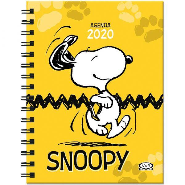 AGENDA SNOOPY 2020 (AMARILLA)