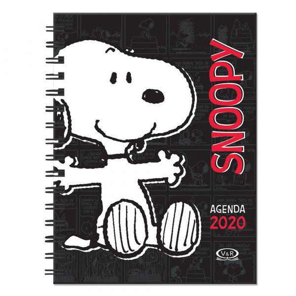 AGENDA SNOOPY 2020 (NEGRA)
