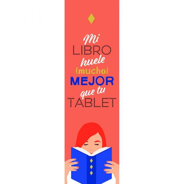 MI LIBRO HUELE (MUCHO) MEJOR QUE TU TABLET