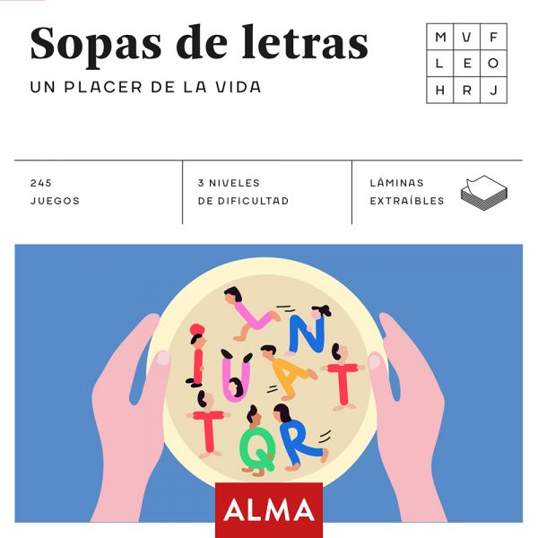 SOPA DE LETRAS. UN PLACER DE LA VIDA