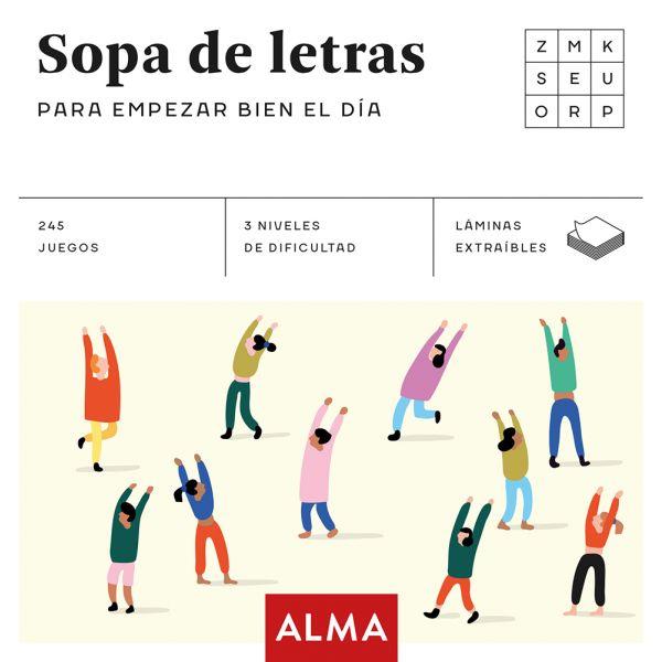 SOPA DE LETRAS PARA EMPEZAR BIEN EL DÍA