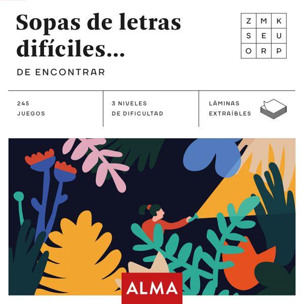 SOPA DE LETRAS DIFÍCILES DE ENCONTRAR