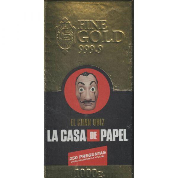 LA CASA DE PAPEL. EL GRAN QUIZ(JUEGO DE MESA)