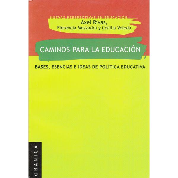 CAMINOS PARA LA EDUCACIÓN