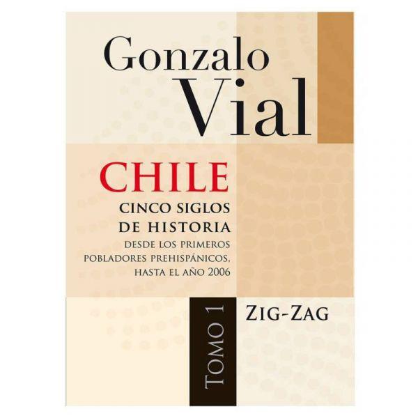 CHILE CINCO SIGLOS DE HISTORIA TOMO 1 Y 2 RUSTICO