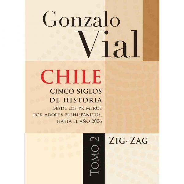 CHILE CINCO SIGLOS DE HISTORIA TOMO 1 Y 2 TD