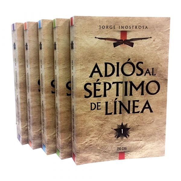 ADIÓS AL SÉPTIMO DE LÍNEA (5 TOMOS)