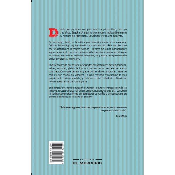 SECRETOS DE COCINA DE BEGOÑA URANGA