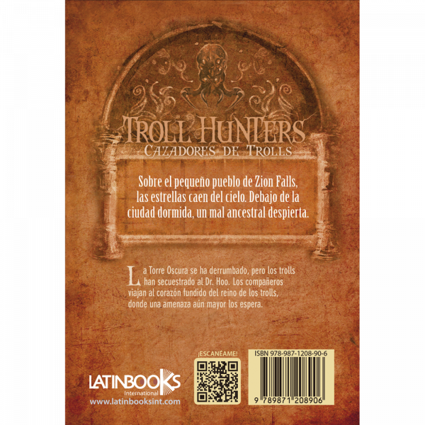 TROLL HUNTERS 3. LA CORONA DE LAVA