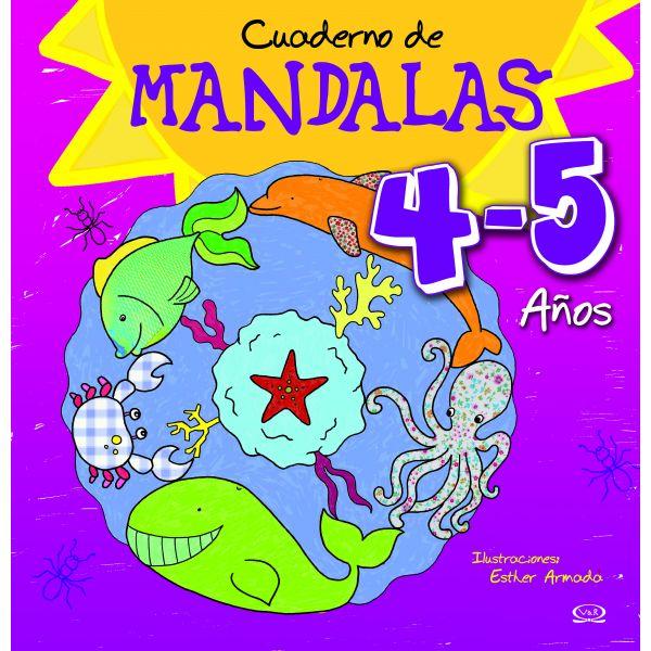 CUADERNO DE MÁNDALAS 4-5 AÑOS