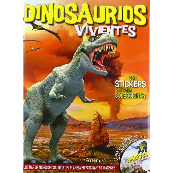 DINOSAURIOS VIVIENTES CON DVD