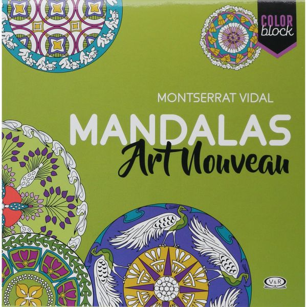 COLOR BLOCK - MANDALAS ART NOUVEAU