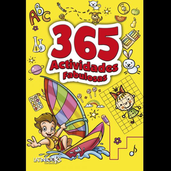 365 ACTIVIDADES PARA COLOREAR AMARILLO