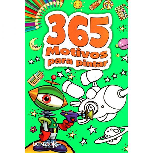 365 ACTIVIDADES PARA COLOREAR VERDE