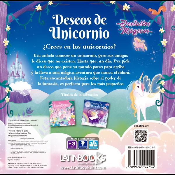DESTELLOS MAGICOS (Deseos de Unicornio)