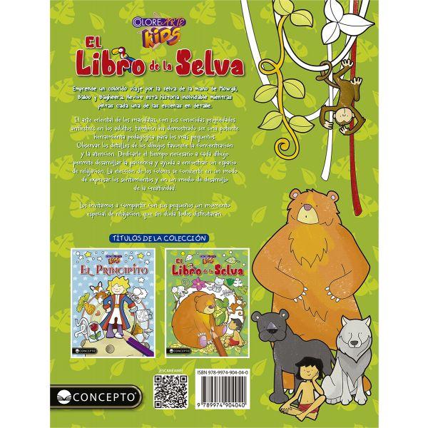 COLOREARTE KIDS - EL LIBRO DE LA SELVA