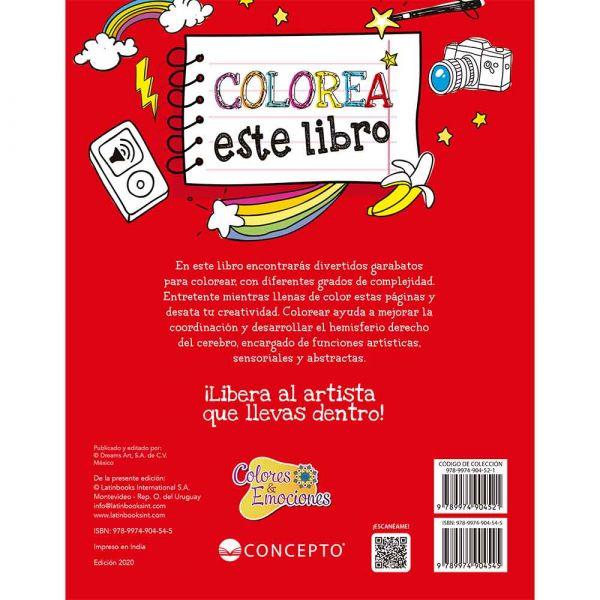 COLORES Y EMOCIONES -COLOREA ESTE LIBRO