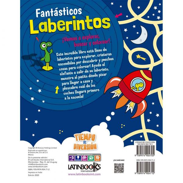 TIEMPO DE DIVERSIÓN -FANTÁSTICOS LABERINTOS