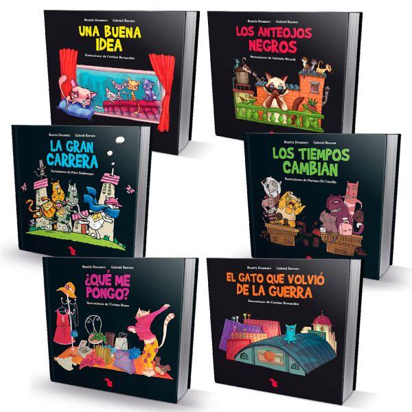 6 GATOS DE AZOTEA. 6 libros para una mejor convivencia