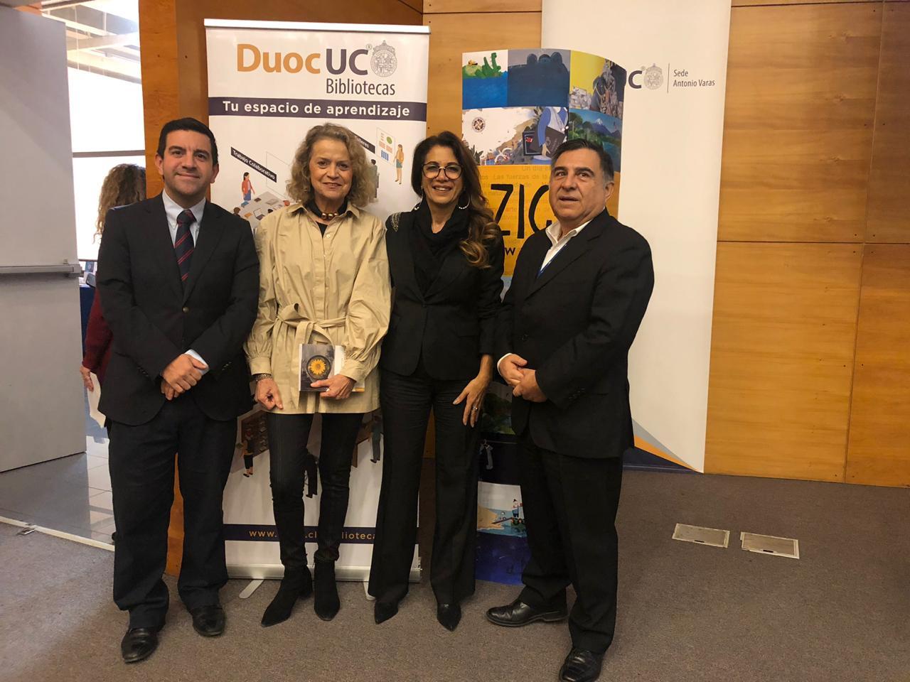 Autora argentina llegó a Chile a sorprender con el método ACOM