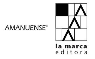¡Bienvenidas editoriales Amanuense y La Marca!