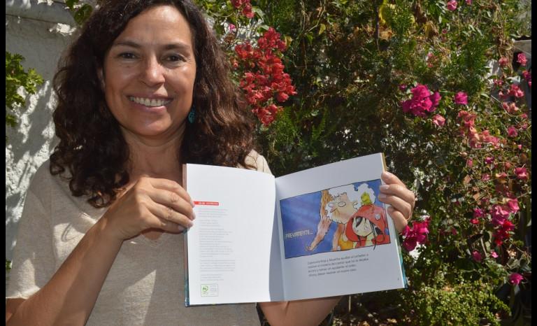Paz Corral volvió a Ovalle a presentar su más reciente libro