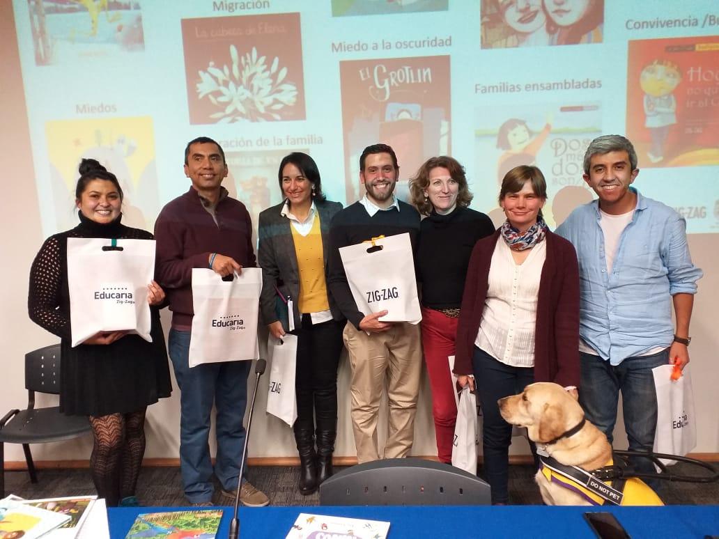 Más de 100 profesores y mediadores de la lectura participaron en encuentro de fomento lector Zig-Zag